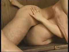 Hot orgy in a russian sauna