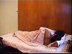 Old Desi Vid of a female with messed up hair