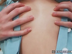 Nasty nurse Denisa gyno pussy speculum masturbation at clini