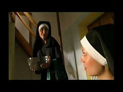 Lusty horny nuns get off with each other