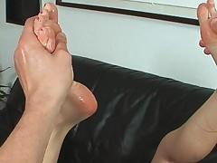 Jayda Diamonde, Naughty footjob