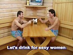 Russian Girl Sauna