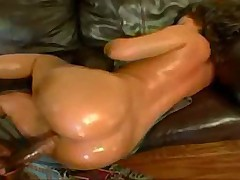 Hot Noami rides the big black cock