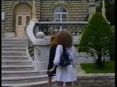 Redhead Anal Twins Gangbang