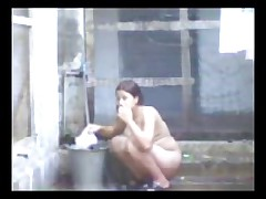 Desi Aunty Bathing and fucked