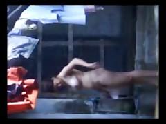 Desi Aunty Bathing and fucked