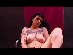 Squiting punk girl by vampiremaster