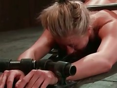 Blondy Holly Heart BDSM
