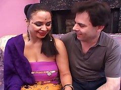 Lester Shows Us How He Fucks His Busty Hairy Indian GF