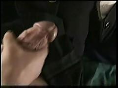 Surprise sous le jupe