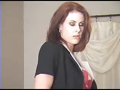 Elise Erotic - Boss Lady (Black Pantyhose and Sexy Pussy)