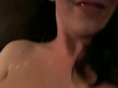 Smoking hot girl in glasses fucking