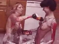 Kitchen Bodypaint by snahbrandy