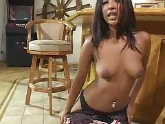 Sexy Indian Destiny Gives A Handjob