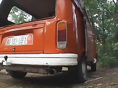 Serbian Porn Gangbang in Bus (part 3 of 3)