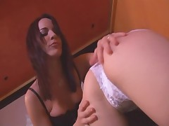 Kinky bisexual babes like anal