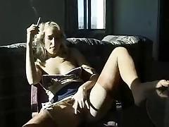 Smoking fetish Sophie Evans