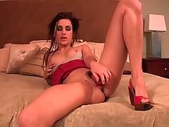 Georgia Jones' Homemade Masturbation Video