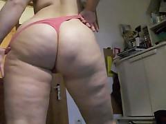 Big Butt Sara Strips