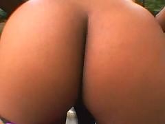 skinny ebony fucked by white cocks