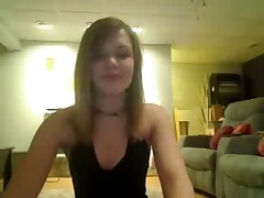 Two teen teasing on Webcam