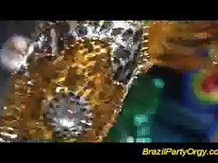 Brazilian party orgy hard fuck and big cock blowjobs