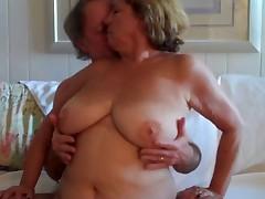 Big tit granny