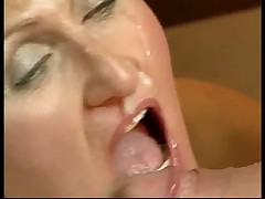 Granny Cum Drip from her Nose
