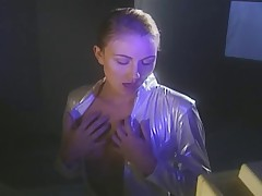 Jacquline Lovell (Sara St. James) and her porn collection