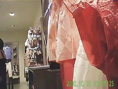 Hidden cam : shopping for lingerie