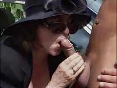 Granny in public