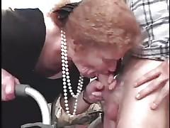 Granny Gumjob