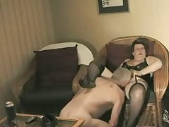 Homemade Grandma Gets Ready to Fuck Grandpa