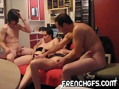 Exclusive French Canadian Swingers part 1