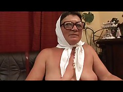 Granny in a Wheelchair Fucked Good