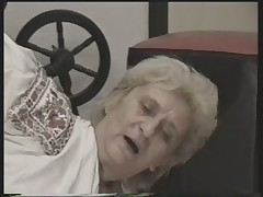 Granny Fucked on the Floor