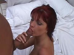 Beautiful Brazillian Redhead Anal