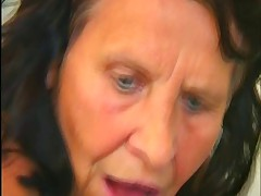 Superhorny granny gets fucked good