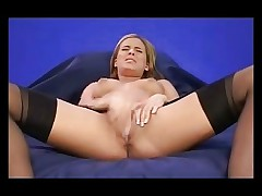 Horny French Teen Masturbat
