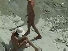 A beach fuck