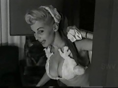 Buxom Blonde Donna 'Busty' Brown