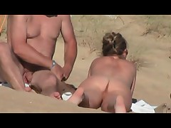 Hidden vid of French woman on beach part 3