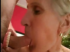 Granny Takes her Teeth Out for a Better Suck