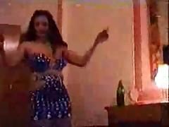 Egyptian belly dancer doing her stuff