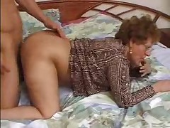 Grandma Caught Her Lover To the fullest extent a finally Wanking