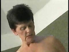 Hot Granny prevalent Black Stockings Fucking Younger by TROC