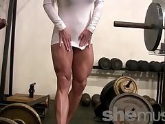 Ashlee Chambers - SheMuscle Porn Star