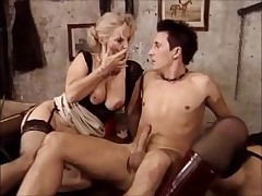 Granny and milf fisting and shacking up Part 2