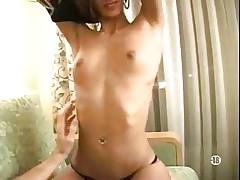 Skinny French Brunette Assfucked...F70