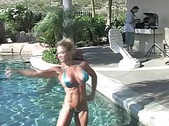 Hot fitness model